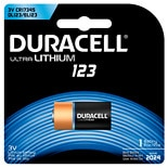 Duracell Ultra Photo Lithium Battery CR123a