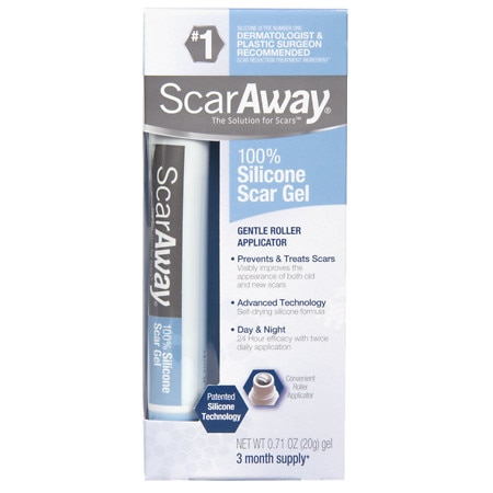 ScarAway Clinical Strength 100% Silicone Repair Gel with Kelo-Cote Technology 20 g - 0.7 oz.