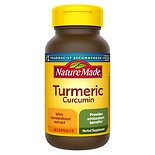 Nature Made Turmeric Herbal Supplement Capsules