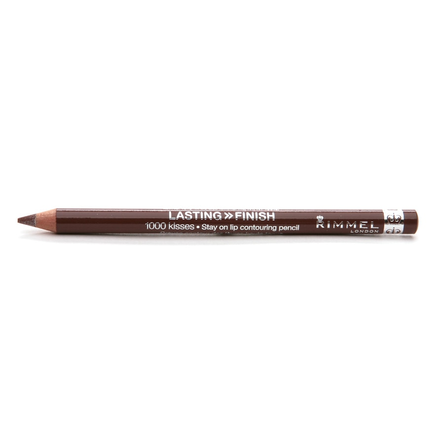 0a3dcc6add954 Rimmel 1000 Kisses Stay On Lip Liner Pencil, Coffee Bean | Walgreens