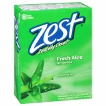 Zest Family Deodorant Bars Aloe