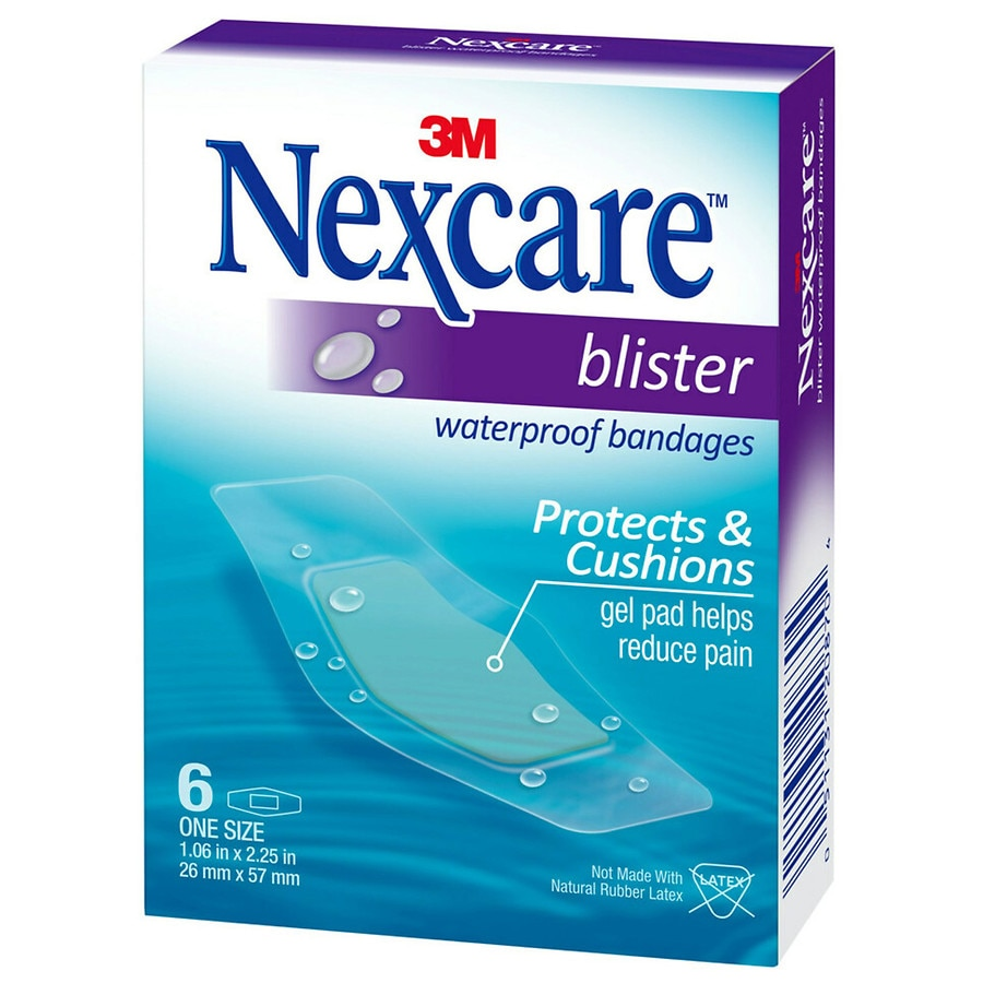 Nexcare Blister Waterproof Bandages One Size One Size Walgreens