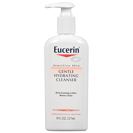 Eucerin Sensitive Skin Gentle Hydrating Cleanser