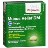 Walgreens Mucus Relief DM Expectorant/ Cough Suppressant Tablets