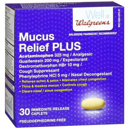 Mucous relief