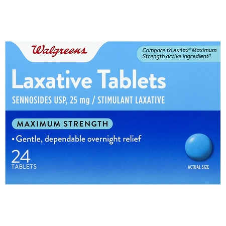 Walgreens Laxative Pills - 24 ea