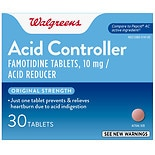 Walgreens Acid Controller and Acid Reducer Tablets Original Strength