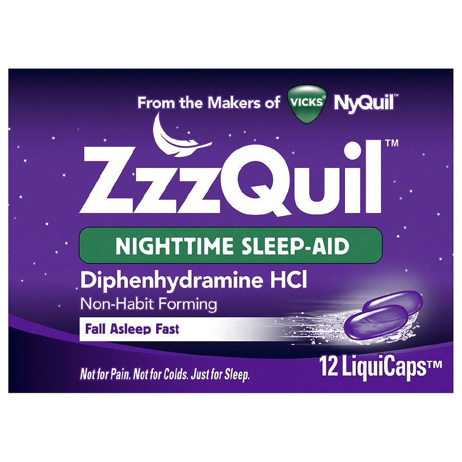 does nyquil liquicaps contain alcohol