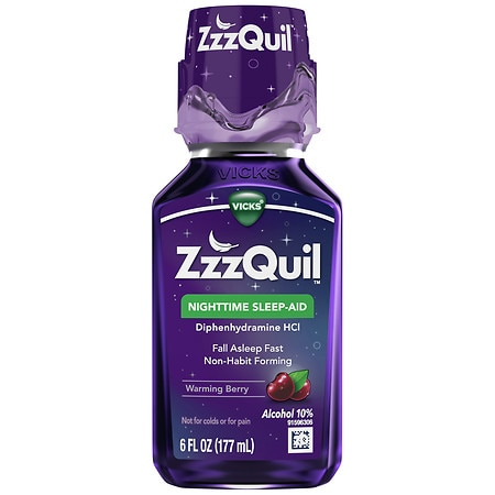 ZzzQuil Nighttime Sleep-Aid Liquid