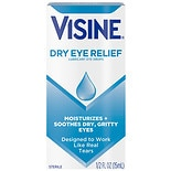 Visine Dry Eye Relief Lubricating Eye Drops