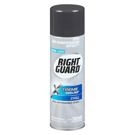 Right Guard Xtreme Cooling Antiperspirant & Deodorant Aerosol Chill - 6 oz.