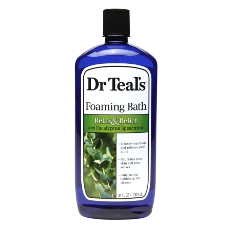 Dr. Teal's Foaming Bath Relax & Relief with Eucalyptus Spearmint - 34 fl oz