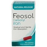 Feosol Iron Supplement Caplets