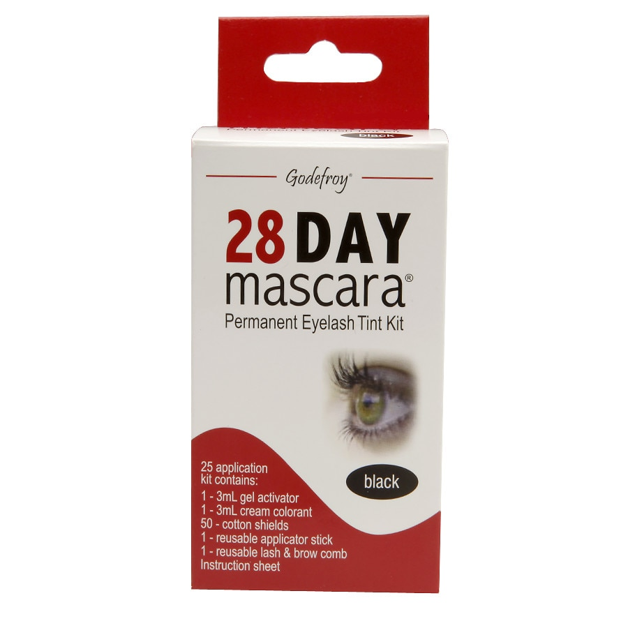 Godefroy 28 Day Mascara Permanent Eyelash Tint Kitblack Walgreens