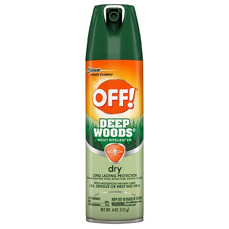 Deep Woods Off! Dry Aerosol Insect Repellent