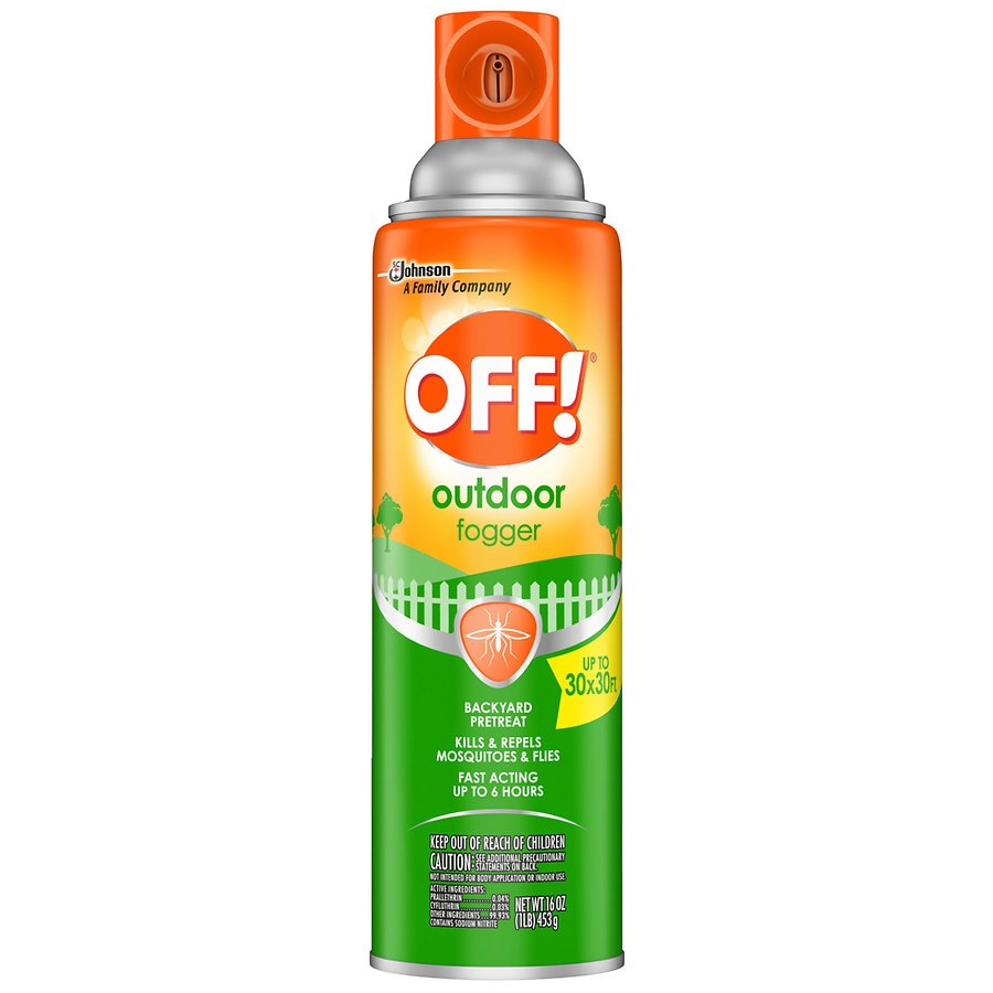off yard deck area insect repellent outdoor fogger walgreens