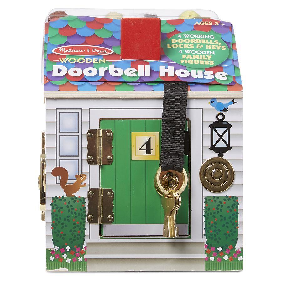 Melissa Doug Doorbell House