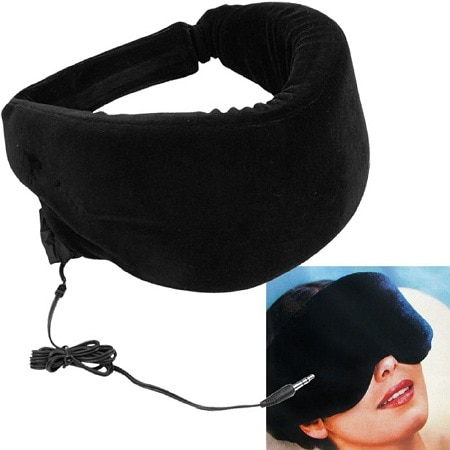 Remedy Heat Sensitive Memory Foam Sleep Mask w/ Music Input - 1 ea