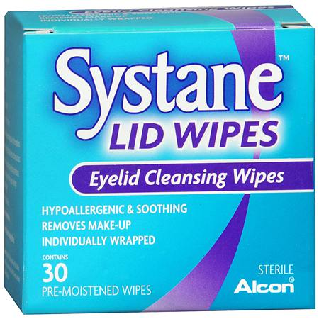 Lid Wipes Eyelid Cleansing Wipes - 30 ea