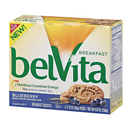 belVita Breakfast Biscuits Blueberry - 1.76 oz. x 5 pack