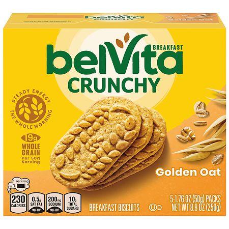 belVita Breakfast Biscuits Golden Oat - 8.8 oz. x 5 pack