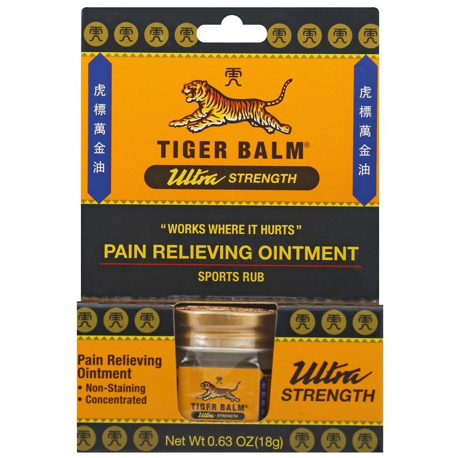 Tiger Balm Ultra Strength Pain Relieving Ointment Walgreens