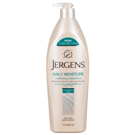 Jergens Daily Moisture Fragrance Free Moisturizer Fragrance Free