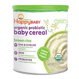 wag-Organic Probiotic Baby Cereal: Brown Rice