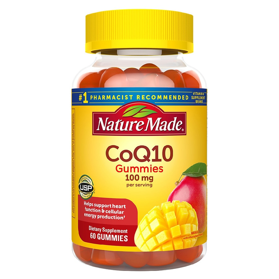 Co Enzyme Coq10 Walgreens Blackmores 75mg 30 Nature Made Adult Gummies Mango