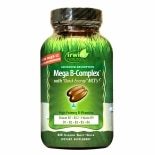 Irwin Naturals Mega B-Complex with Quick Energy, Softgels