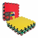 ADG Multi-Color EVA Foam Exercise Mat 8 pc