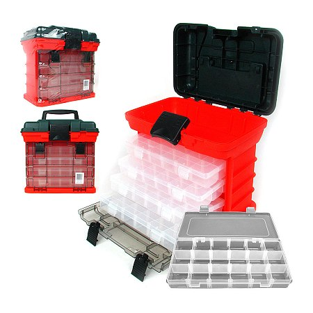 Click here for Trademark Tools 73 Compartment Durable Plastic Sto... prices