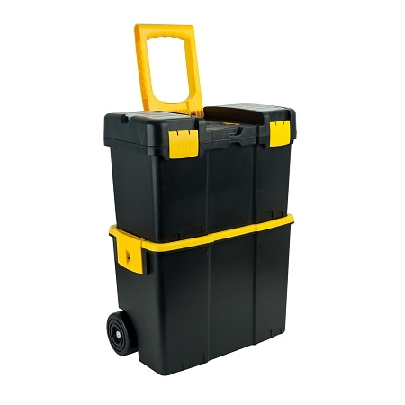 Image of ADG Stackable Mobile Tool Box with Wheels - 1 ea