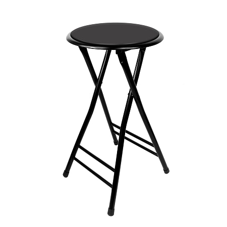 Trademark Tools 24 Inch Cushioned Folding Stool Trademark Home Collection - 1 ea
