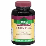 Finest Nutrition B-Complex with Vitamin C, Caplets