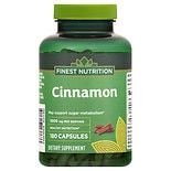 Finest Nutrition Cinnamon 1000 mg Capsules
