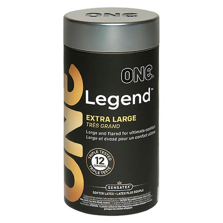 One Legend Condoms Extra Large - 12