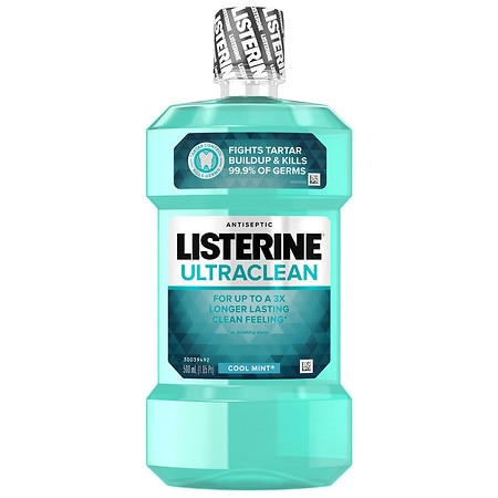 LISTERINE Ultra Clean Antiseptic Mouthwash Mint