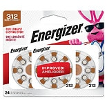 Energizer Hearing Aid Batteries 312