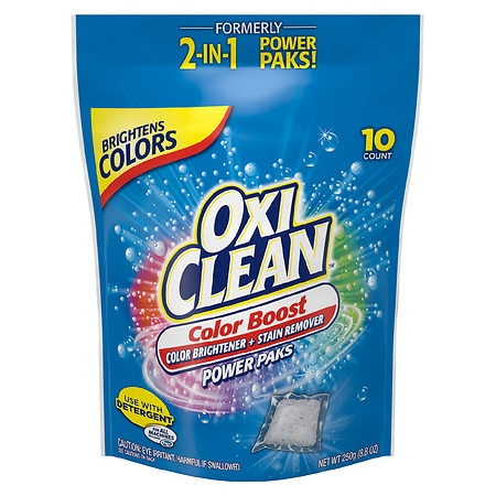 Oxiclean 2 In 1 Stain Fighter Power Packs 10 Ea