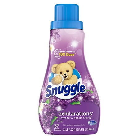 Snuggle Exhilarations Concentrated Fabric Softener Liquid - 32 oz.