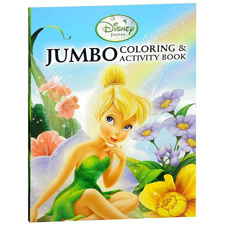 Disney Princess Jumbo Coloring Activity Book