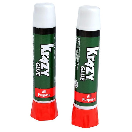 Krazy Glue All Purpose Glue Tubes 0.14 Oz.