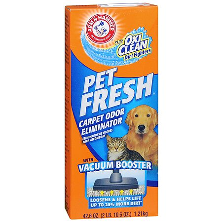 Arm Amp Hammer Pet Fresh Carpet Odor Eliminator Powder Plus