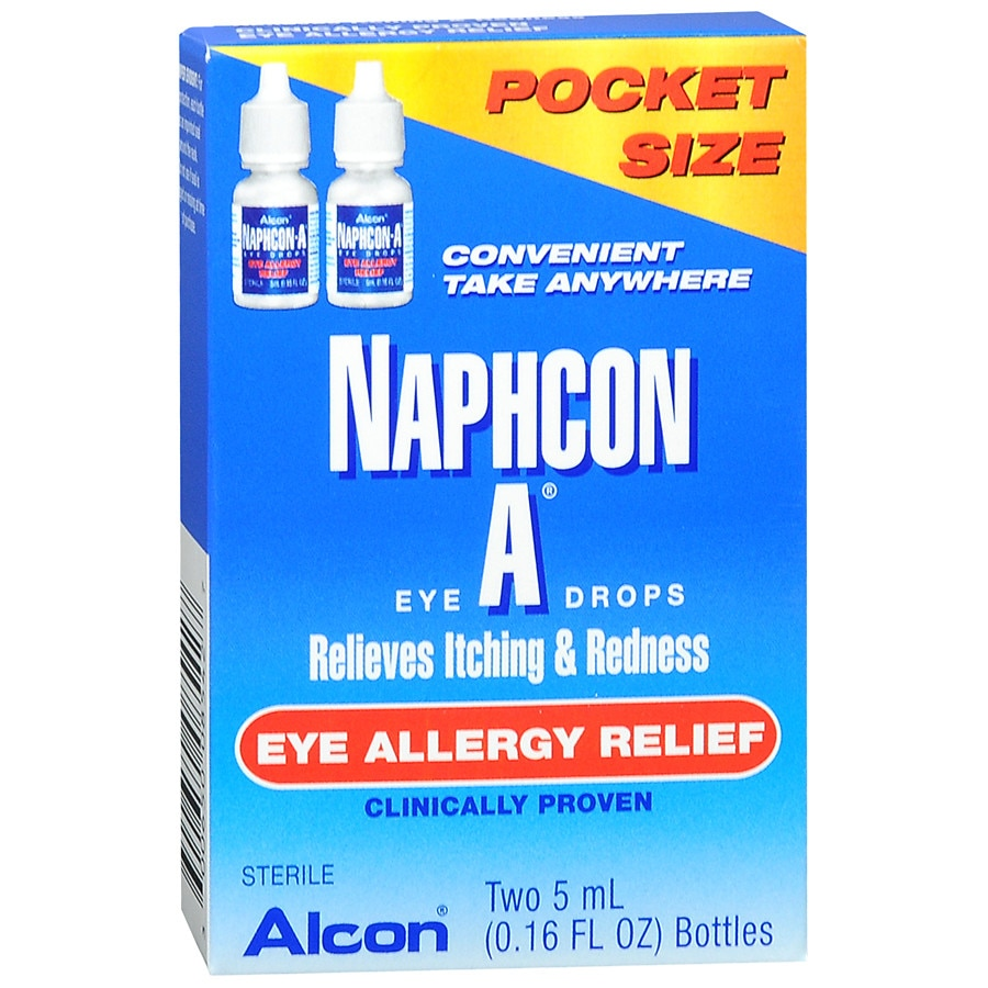 Naphcon-A Eye Allergy Relief Eye Drops