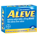Aleve Pain Reliever/ Fever Reducer Caplets