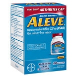 Aleve Pain Reliever/ Fever Reducer Gelcaps