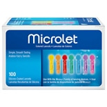 MICROLET Colored Lancets