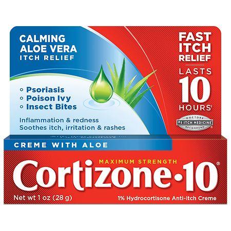 Cortizone 10 Maximum Strength Anti-Itch Cream - 1 oz.