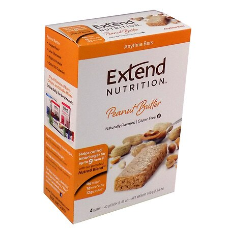 Image of Extend Nutrition Snack Bars Peanut Delight - 1.41 oz.